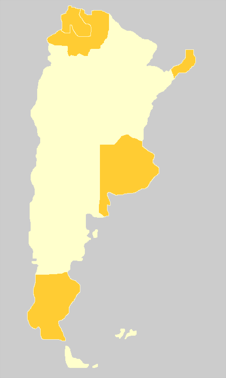 map of argentina with cities. Argentina Map